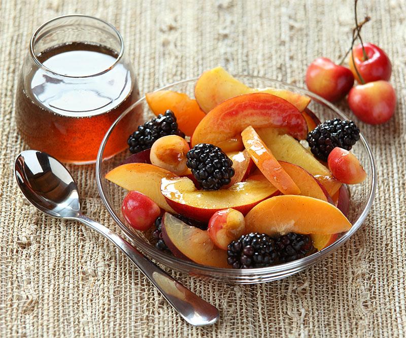 medus ir vaisiai